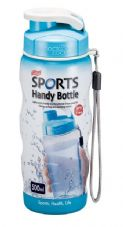 Lock & Lock Blue Sports Handy Bottle with Carry Strap - 500ml